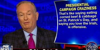 O'Reilly: Criticism Of Trump's Taco Bowl Tweet 'Insane'