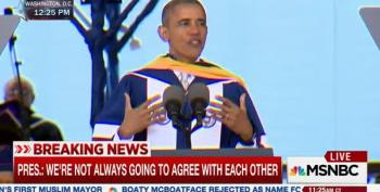 Obama Speaks At Howard University Commencement
