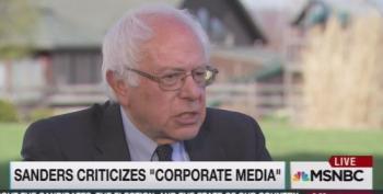 Bernie Sanders: Democrats Should 'Start Funding The Equivalent  Of Fox News'