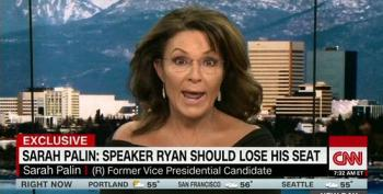 Sarah Palin Will Work To Defeat Paul Ryan In Primary