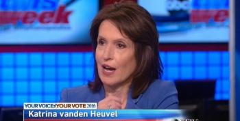 Katrina Vanden Heuvel: 'The Republican Party Is Reaping What It Has Sowed'