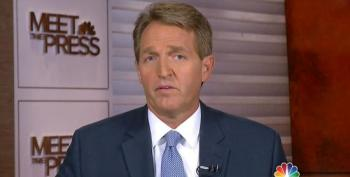 Jeff Flake Gives The Game Away