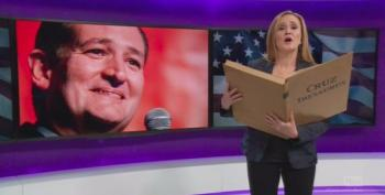 Samantha Bee Bids A Sad Farewell To Ted Cruz
