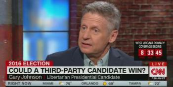 Gary Johnson Bashes Trump's Crusades Against Undocumented Workers