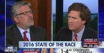 Tucker Carlson And Stephen Hayes Clash Over Donald Trump