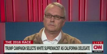 Trump's White Nationalist Delegate:  'Whites Are So Afraid To Be Proud Of Their Heritage'