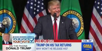 Donald Trump's Testy GMA Interview On Taxes : 'It's None Of Your Business'