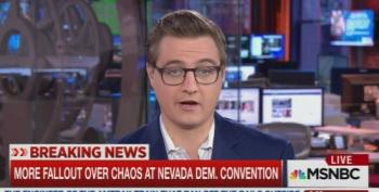 Chris Hayes Discusses The Nevada Dem Convention Flare Up