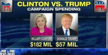 Fox Pundits Pretend To Be Astonished Over Trump's Lack Of Campaign Spending