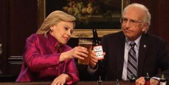 Hillary Waltzes Bernie Away In SNL Cold Open