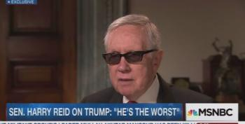 Harry Reid:  'I Have Never Seen A More Flawed Candidate Than Donald Trump'