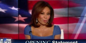 'Go Back To Bed, Hillary': Fox Wingnut 'Judge' Pirro Says Trump's The One To Keep Us Safe