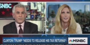 Coulter Says Trump's Taxes Self-Incriminate So Nevermind