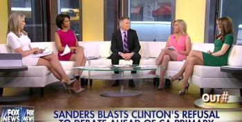 Fox Attacks Hillary Clinton For Turning Down Fox News Debate