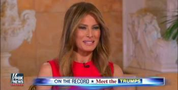 Melania Trump Accidentally Undermines Donald's Campaign Slogan
