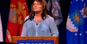 Sarah Palin: Trump Is A 'Golden Wrecking Ball'