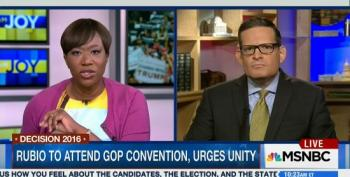 Joy-Ann Reid Takes Apart Alfonso Aguilar For Claim Clinton Would Be Worse Than Trump
