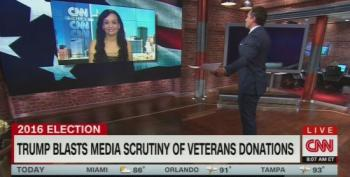CNN's Chris Cuomo Tells Trump Spox To Call Him An 'Idiot'