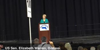 Senator Elizabeth Warren Rips Donald Trump On Sham Trump University