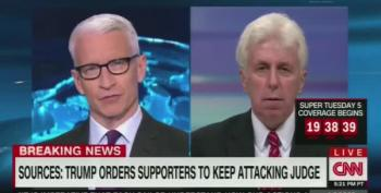 Jeffrey Lord's Pathetic Smears Of Judge Curiel On CNN