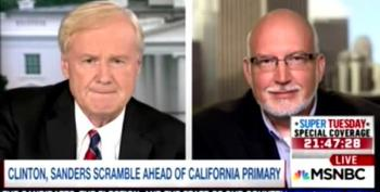 Jeff Weaver Goes After Chris Matthews' Wife On Air Over Releasing Tax Returns
