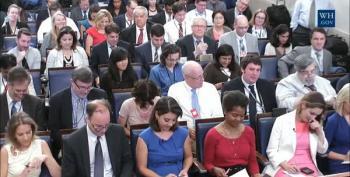 Josh Earnest Smacks Senate Republicans At White House Briefing