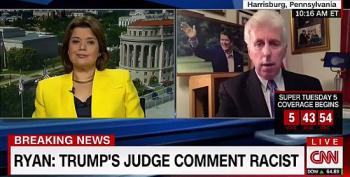 CNN's Jeffrey Lord: Speaker Ryan 'Is Racist' For Dissing Trump's Attacks On Judge