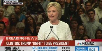 Hillary Clinton Slams Trump In Historic Speech As Unfit For President