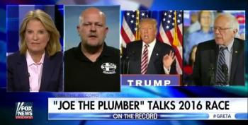 'Joe The Plumber' Says Trump Should Just 'Keep Being Trump' To Win Over Sanders Supporters
