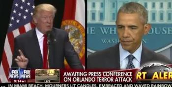 Trump Connects President Obama To Orlando Massacre