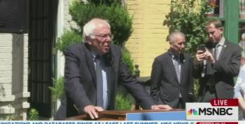 Bernie Sanders: 'Muslim People Did Not Commit This Horrific Act'