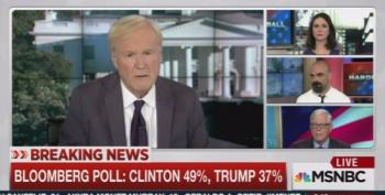 Chris Matthews Exposes Hugh Hewitt's Clinton Derangement Syndrome