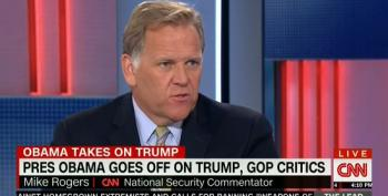 Mike Rogers Whines That Obama Is Acting Like The 'Campaigner-In-Chief'