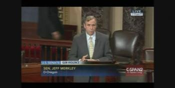 Sen. Jeff Merkley Discusses His 18yr Old Cousin Killed By Mass Shooting At Filibuster