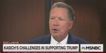 John Kasich On Trump: 'It's Hard For Me To Go For Somebody Who's A Divider'