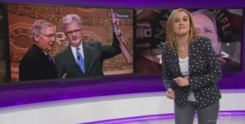 Samantha Bee Takes Aim At Gun Control And Mitch McConnell