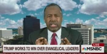 Ben Carson Admits Evangelical Leaders Don't Care About Religious Values By Supporting Trump