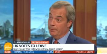 Morning After, UKIP Leader Admits He  Exaggerated Brexit Claims