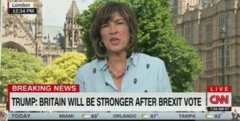 CNN's Christiane Amanpour Wonders Who Brexiters Are 'Taking Their Country Back' From