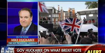 Mike Huckabee Uses Brexit To Push For Deregulation In The United States