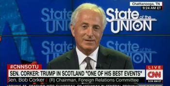Sen. Bob Corker Calls Trump's Scottish Presser 'One Of His Best Events'
