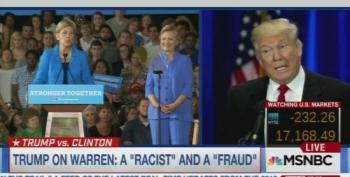 Donald Trump Calls Elizabeth Warren A 'Racist' And A 'Fraud'