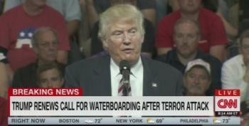 Donald Trump's Response To Istanbul Airport Bombings Is 'Waterboarding'
