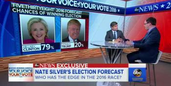 Nate Silver Gives Hillary About An 80% Chance To Win Against Trump
