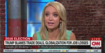 CNN's Trump Supporter Says Donald Outsourced Goods Because - Freedom