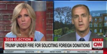 CNN Confronts Lewandowski On Trump's Foreign Fundraising Emails