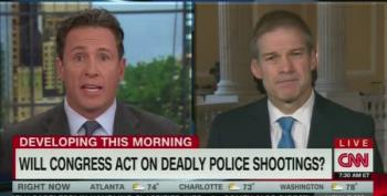 CNN Asks Rep Jordan About Holding Hearings On Police Shootings
