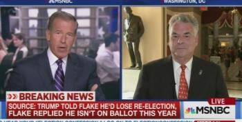 Rep. Peter King Admits Trump Had A Tough Meeting With Senate Republicans