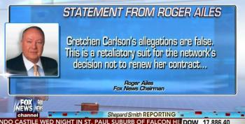 Shep Smith Reads Statement From Roger Ailes Denying Sexual Harassment Allegations