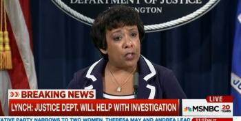 Attorney General Loretta Lynch Addresses Dallas Shootings